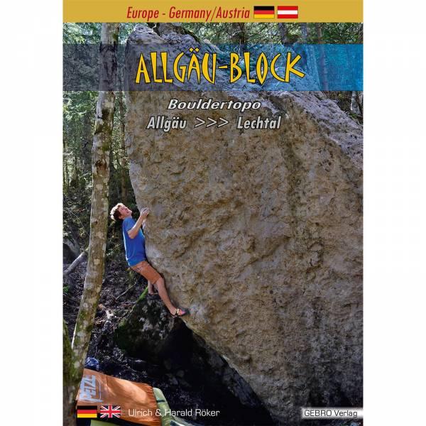 Gebro Verlag Allgäu Block - Bouldertopo - Bild 1