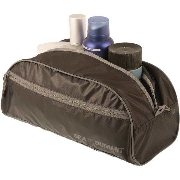 Sea to Summit TravellingLight™ Toiletry Bag L - Kulturbeutel black-grey - Bild 2