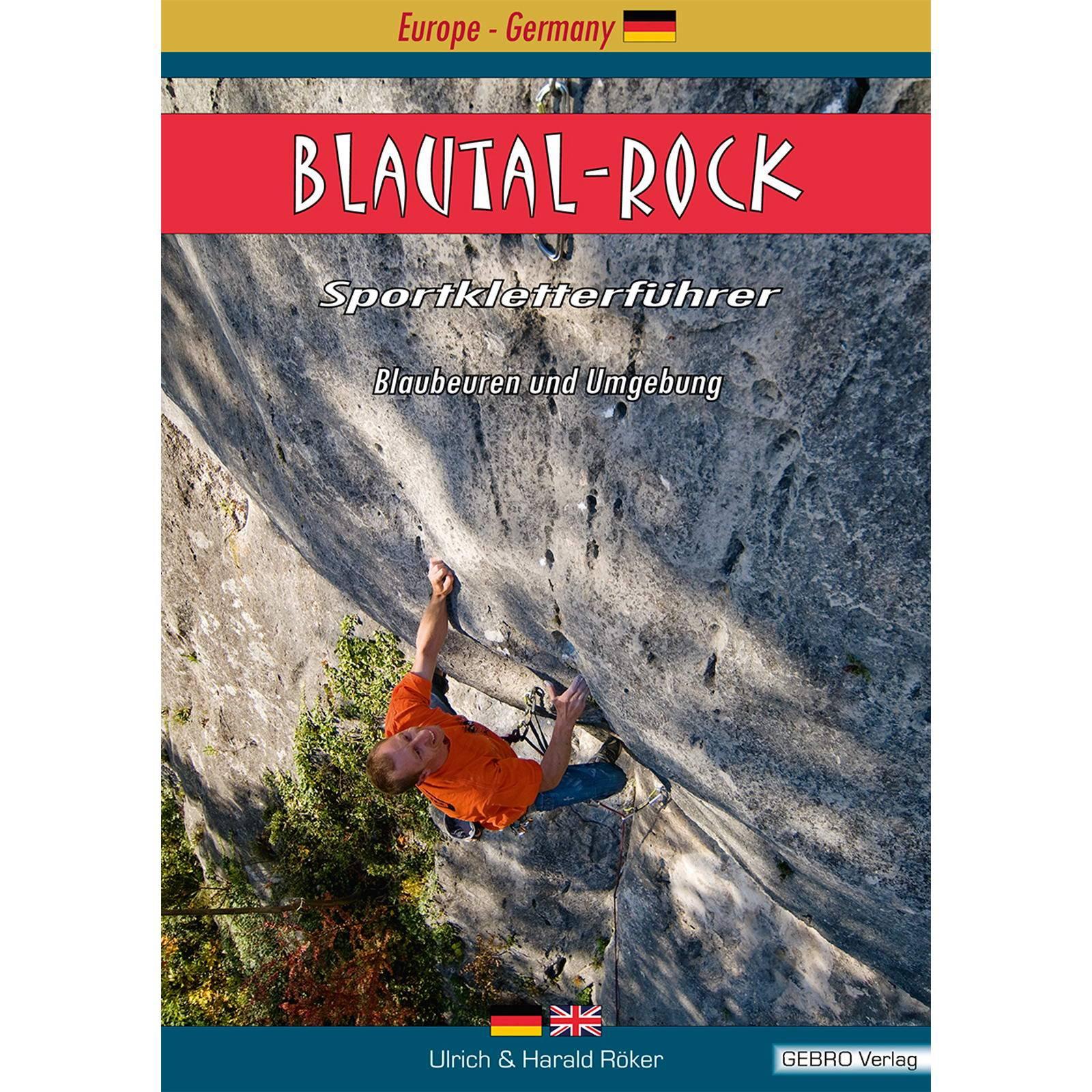 Gebro Verlag Blautal Rock - KletterfĂĽhrer