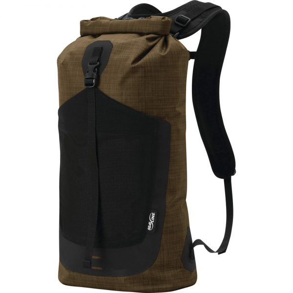 Sealline Skylake™ Pack 18 - wasserdichter Daypack heathered brown - Bild 2