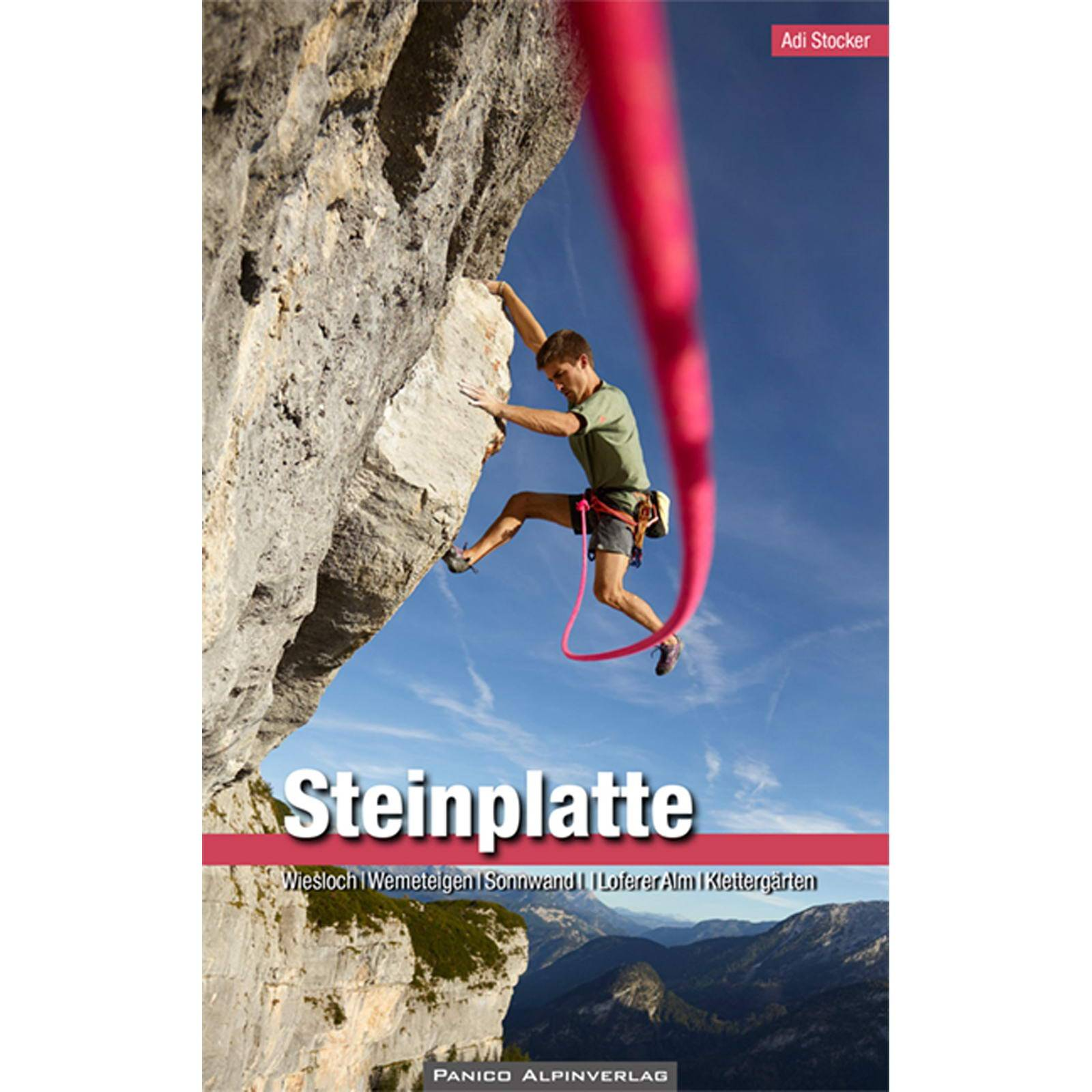Panico Verlag Steinplatte - KletterfĂĽhrer
