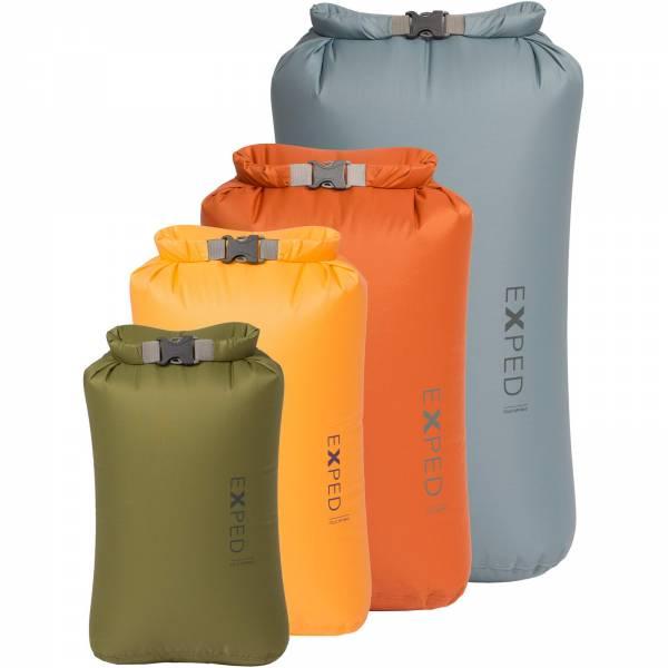 EXPED Fold Drybag - 4er Packsack-Set - Bild 1