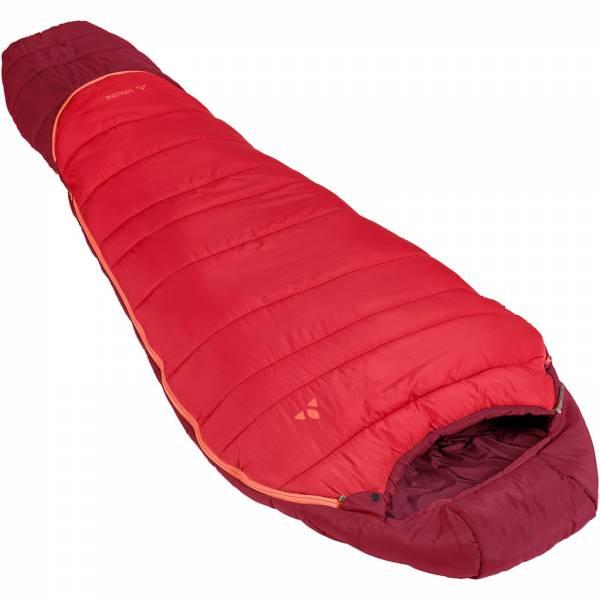 VAUDE Kobel Adjust 500 SYN - Kinder- und Jugend-Schlafsack dark indian red - Bild 1