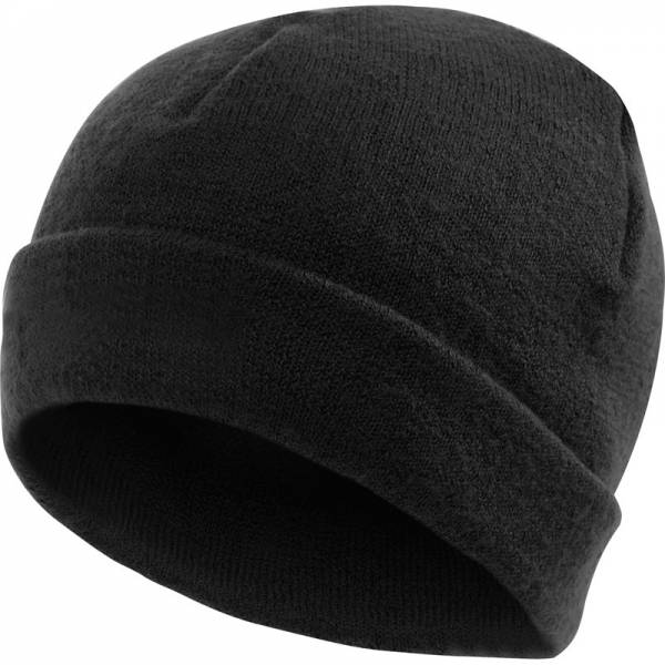 Woolpower Wollmütze 400 - Merino black - Bild 1
