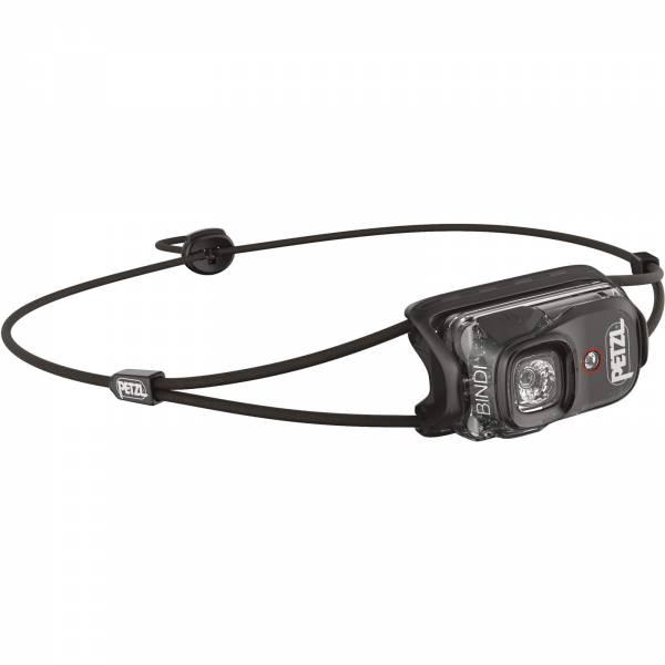 Petzl BINDI® - aufladbare Stirnlampe black - Bild 1