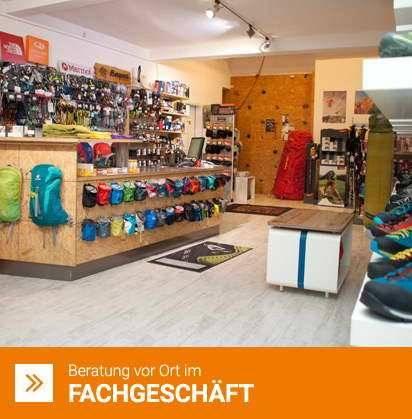 Outdoor Shop für Bergsport Reisen Trekking Klettern