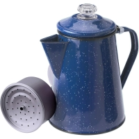 GSI Percolator 8 Cup - Enamel Kaffeekocher