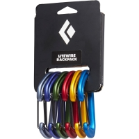 Black Diamond LiteWire Rackpack - Karabiner