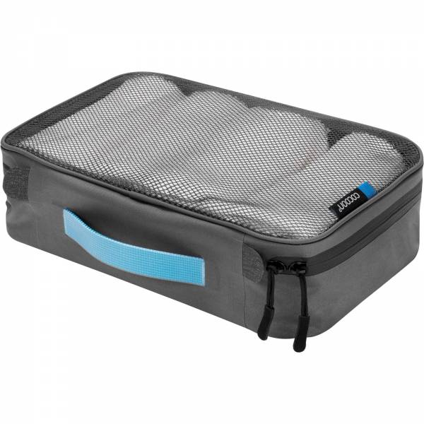 COCOON Packing Cube with Open Net Top M - Packtasche grey-blue - Bild 1