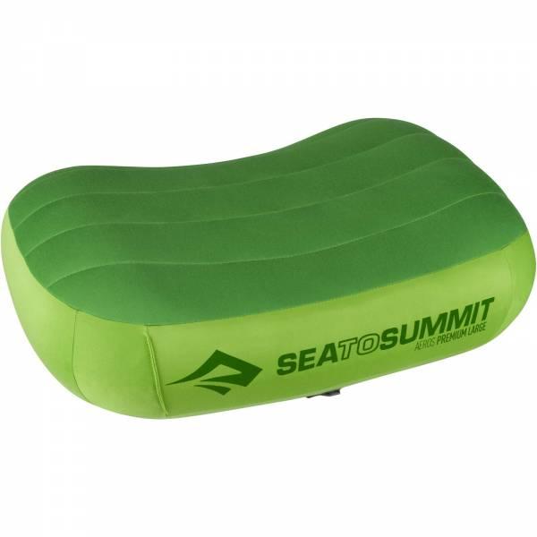 Sea to Summit Aeros Pillow Premium Large - Kopfkissen lime - Bild 6