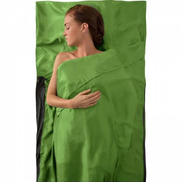 Sea to Summit Silk Stretch Liner Traveller - Inlet green - Bild 3