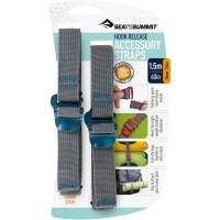 Sea to Summit Tie Down Hook Strap - 2 Stk. 20 mm x 1,5 m blau