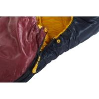 Vorschau: Nordisk Oscar -2° Curve - 3-Jahreszeiten-Schlafsack rio red-mustard yellow-black - Bild 8
