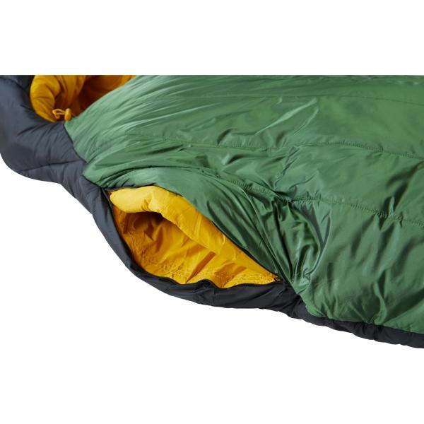 Nordisk Gormsson -20° Mummy - Winterschlafsack artichoke green-mustard yellow-black - Bild 13