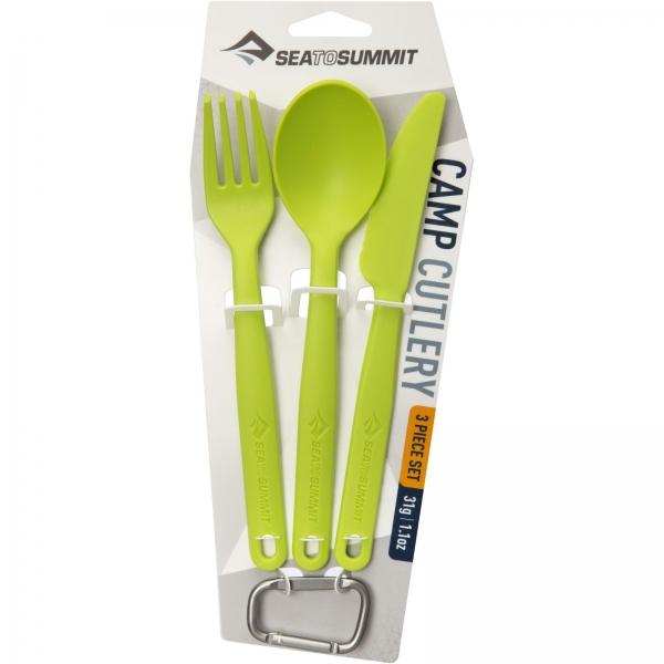 Sea to Summit Camp Cutlery Set - Besteckset lime - Bild 2