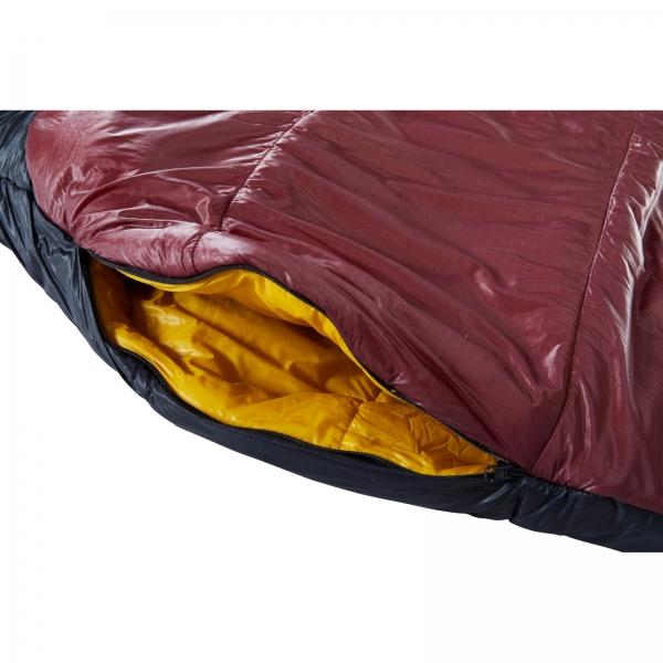 Nordisk Oscar -2° Curve - 3-Jahreszeiten-Schlafsack rio red-mustard yellow-black - Bild 12