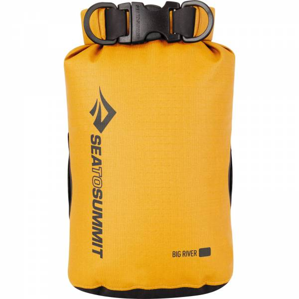 Sea to Summit Big River Dry Bag - wasserdichter Packsack yellow - Bild 5