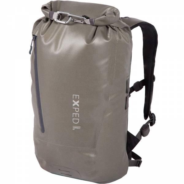 EXPED Torrent 20 - Rolltop-Daypack olive grey - Bild 3