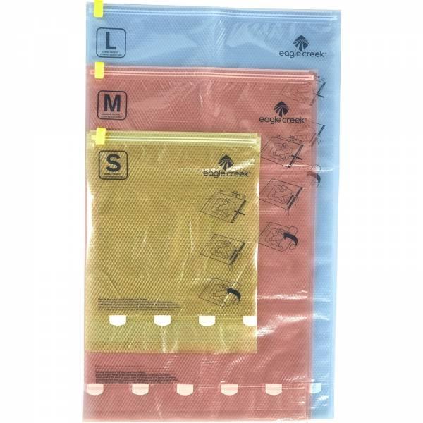 Eagle Creek pack-it Compression Sac Set - S + M + L farbig - Bild 3