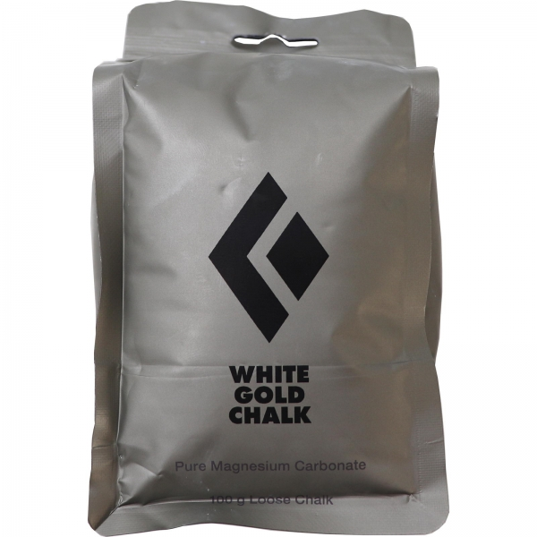 Black Diamond Loose White Gold Chalk 100 g - Bild 1