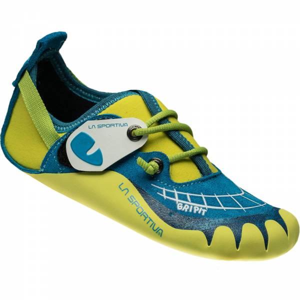 La Sportiva Gripit - Kinder-Kletterschuhe blue-sulphur - Bild 1