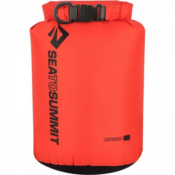 Sea to Summit Lightweight Dry Sack - wasserdichter Packsack red - Bild 4