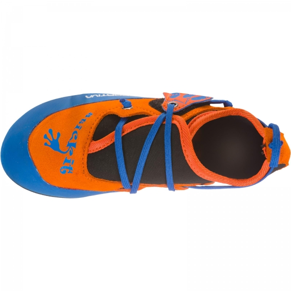 La Sportiva Stickit - Kinder-Kletterschuh lily orange-marine blue - Bild 7