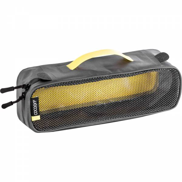 COCOON Packing Cube with Open Net Top S - Packtasche grey-yellow - Bild 5