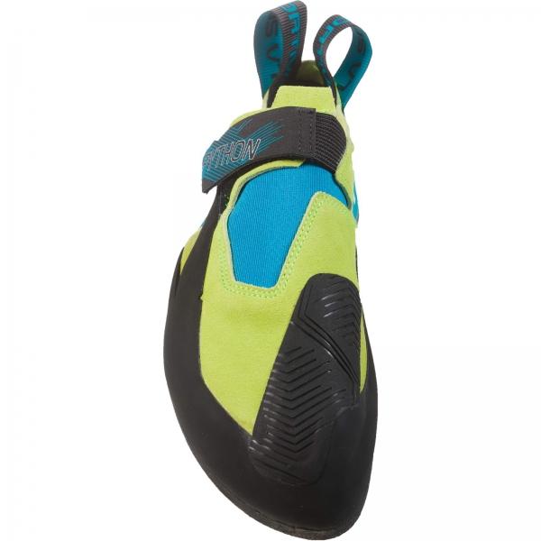 La Sportiva Python - Kletterschuhe apple green-tropic blue - Bild 2