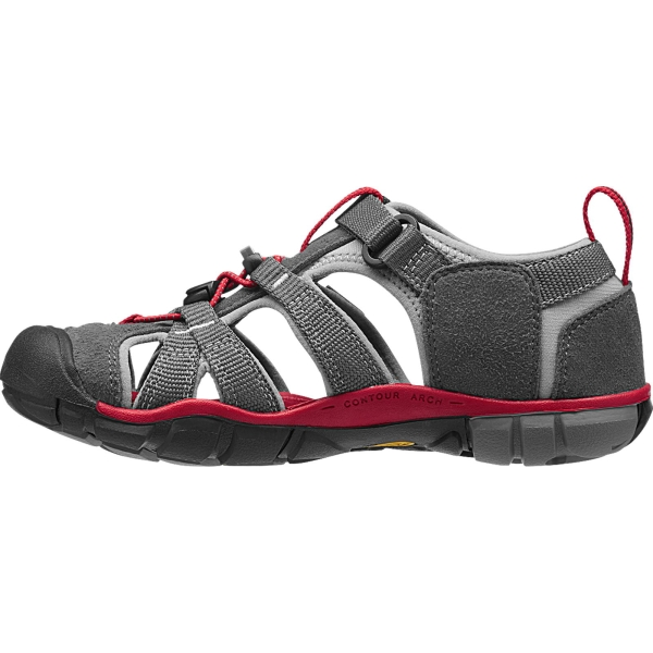 KEEN Youth Seacamp II CNX - Jugendsandalen magnet-racing red - Bild 6