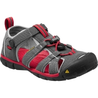 Vorschau: KEEN Youth Seacamp II CNX - Jugendsandalen magnet-racing red - Bild 3