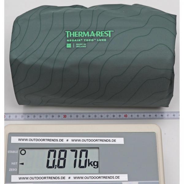 Therm-a-Rest NeoAir Topo Luxe - Schlafmatte balsam - Bild 4