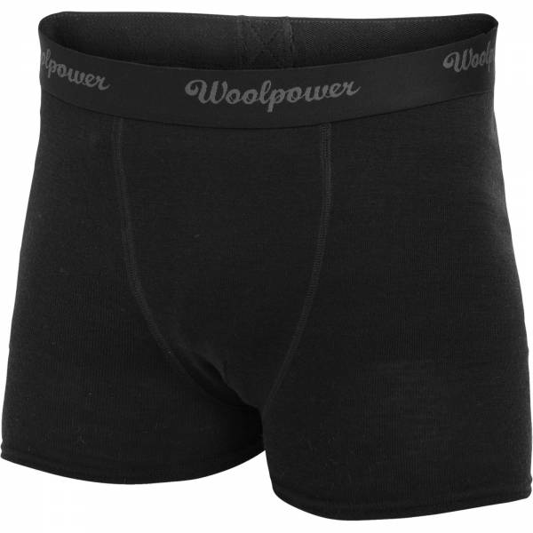 Woolpower Boxer Men's LITE black - Bild 1