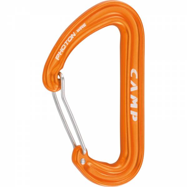 Camp Photon Wire - Karabiner orange - Bild 7