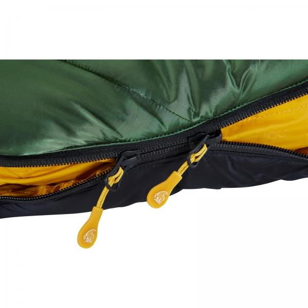 Nordisk Gormsson -20° Mummy - Winterschlafsack artichoke green-mustard yellow-black - Bild 10