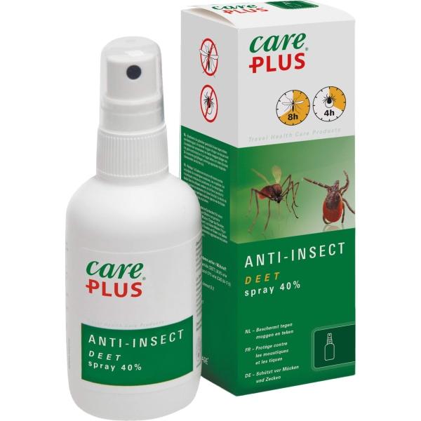 Care Plus Anti-Insect Deet Spray 40% - 100 ml - Bild 1
