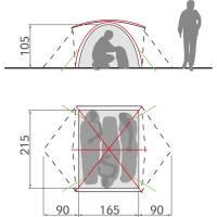 Vorschau: VAUDE Campo 3P - Drei-Personen-Zelt - Bild 7