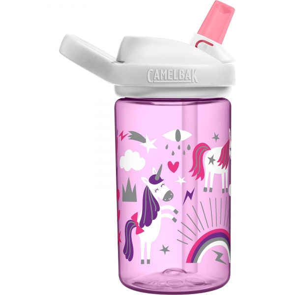 Camelbak Eddy+ Kids 14 oz - 400 ml Trinkflasche unicorn party - Bild 7