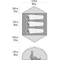 Vorschau: MSR Carbon Reflex™ 3 - Drei-Personen-Zelt - Bild 4