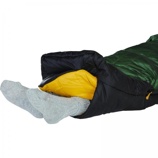 Nordisk Gormsson -20° Mummy - Winterschlafsack artichoke green-mustard yellow-black - Bild 15