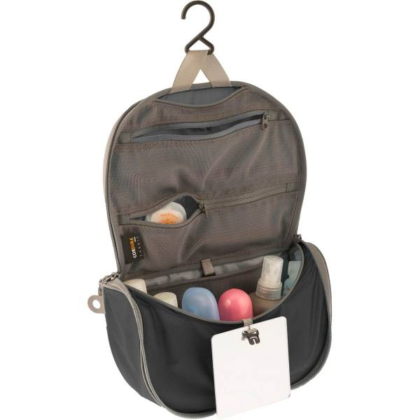 Sea to Summit TravellingLight™ Hanging Toiletry Bag L black-grey - Bild 2