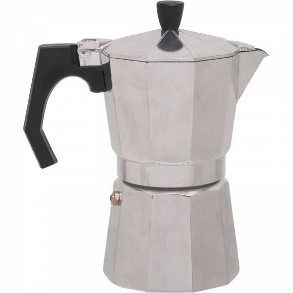Basic Nature Bellanapoli - 6 Tassen Espresso Maker alu natur - Bild 1