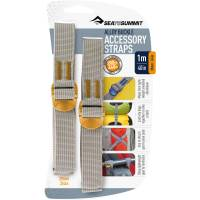 Sea to Summit Tie Down Strap - 2 Stk. 20 mm x 1,0 m gelb