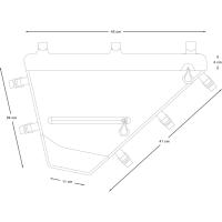 Vorschau: Apidura Expedition Full Frame Pack 7,5 L - Rahmentasche - Bild 5