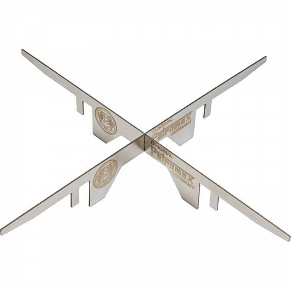 Petromax Feuerstand - Edelstahlaufsatz für Anzündkamin - Bild 1