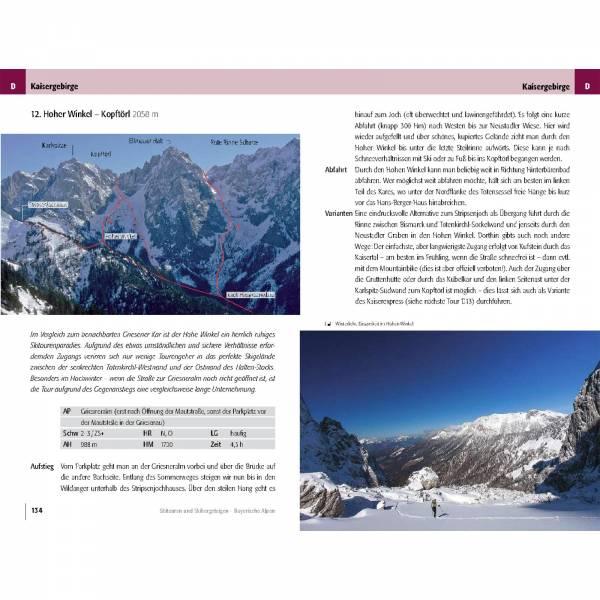 Panico Verlag Bayerischen Alpen - Skitourenführer - Bild 8