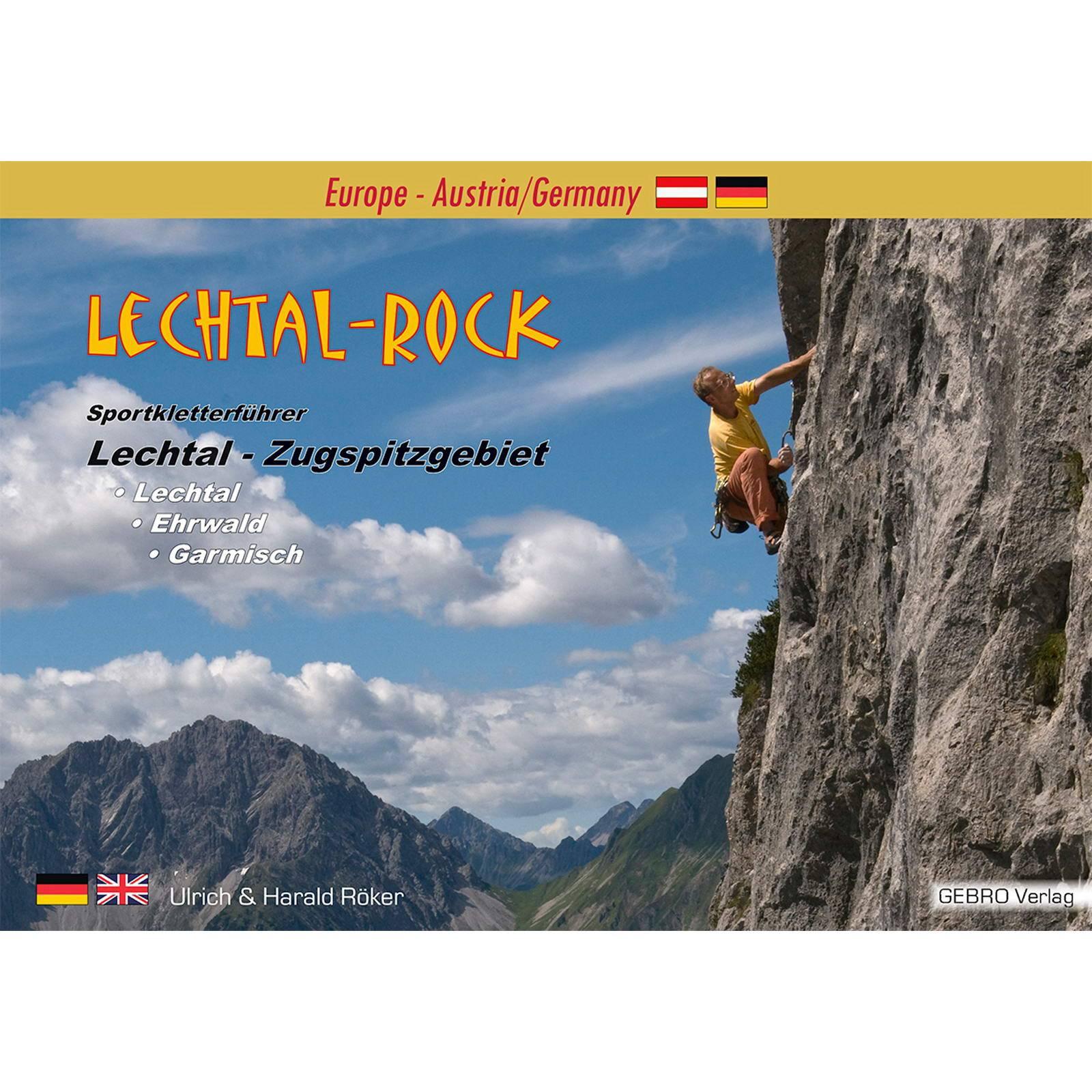 Gebro Verlag Lechtal Rock - KletterfĂĽhrer