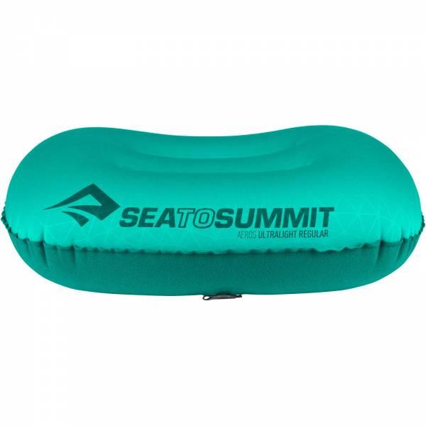 Sea to Summit Aeros Pillow Ultralight Regular - Kopfkissen sea foam - Bild 12