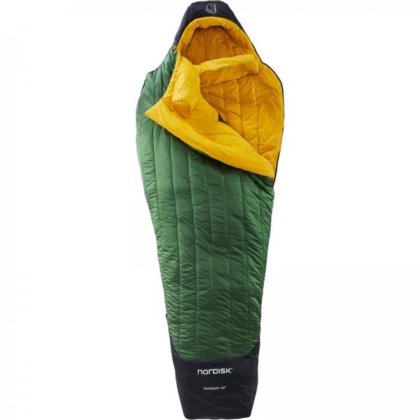 Nordisk Gormsson -20° Mummy - Winterschlafsack artichoke green-mustard yellow-black - Bild 4