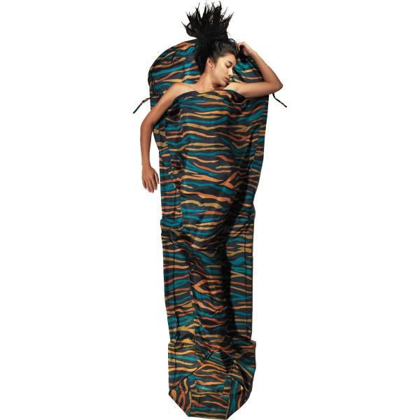 COCOON Silk MummyLiner - Seiden-Schlafsack african night - Bild 3
